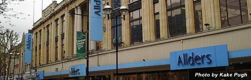 英老舗百貨店の「Allders」が2度目の会社管理を申請し倒産