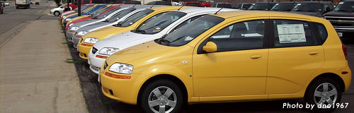 4月の自動車販売台数が28.6%減の16万6365台に