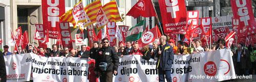 スペインの失業率が危機的な14.4%、さらに増える予想