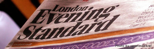 英夕刊紙「イブニング・スタンダード」が12日から無料化へ