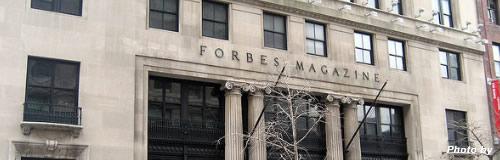 米経済誌「フォーブス」が身売り、世界長者番付で有名