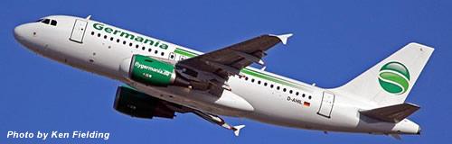 独航空会社の「ゲルマニア」が破産申請、全便を運航停止