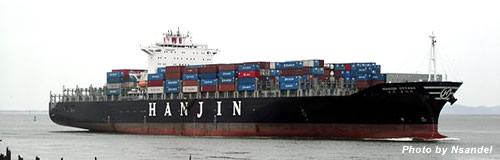 韓国の海運大手「韓進海運」が法定管理を申請