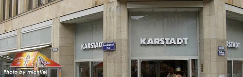 独デパート「カールシュタット」(Karstadt)が倒産