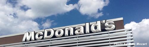 マクドナルドの9月売上高は2%減、再び減少に転じる