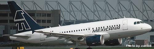 メキシカーナ航空が破産法を申請し倒産、運航は継続