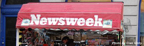 米週刊誌「ニューズウィーク」が紙媒体から撤退、電子版へ移行
