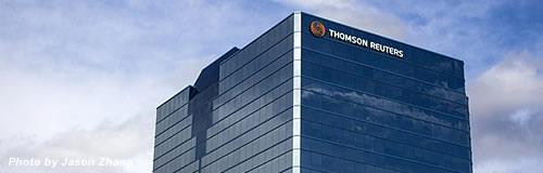 情報サービス大手の「トムソン・ロイター」が3200名の削減へ