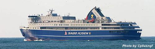 佐渡汽船の17年12月期は3100万円の最終赤字へ