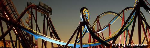 米国のテーマパーク「シックスフラッグス」が倒産