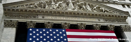 NY株上昇と円安傾向で、本日の株市場は上昇予想