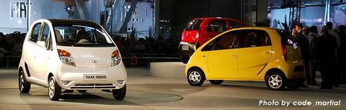世界一安い車、インド・タタ社「ナノ」が19万円で発売へ