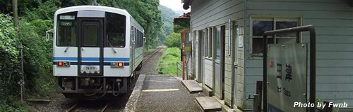 JR西日本が三江線の全線廃止を表明、島根・広島を結ぶ